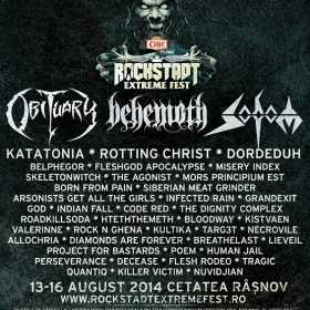 Doua scene la Rockstadt Extreme Fest 2014!