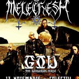 Concert Melechesh si GOD in Club Colectiv
