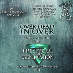 OVER DEAD IN OVER, Prologue Of A New Generation (Metal Under Moonlight XL, 23.09.2014)