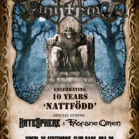 Concert Finntroll, HateSphere si Profane Omen Club Daos, Timisoara