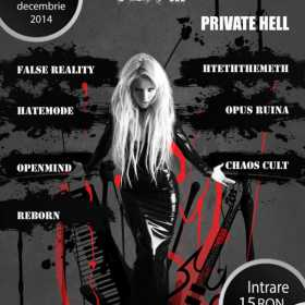 A treia editie Psychosounds Christmas Fest in Private Hell