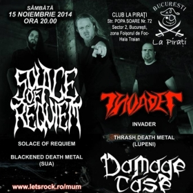 SOLACE OF REQUIEM, Invader, Damage Case (Metal Under Moonlight XLI, 15.11.2014)