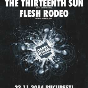Concert Koneskin, The Thirteenth Sun si Flesh Rodeo in Club Control