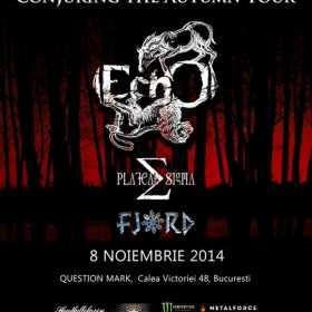 Programul detaliat al concertului EchO din Bucuresti