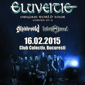 Trupele Skalmold si Windrose deschid concertul Eluveitie in Club Colectiv