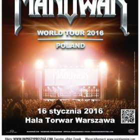 Manowar confirma Varsovia ca  urmatoarea destinatie pentru turneul din 2016!