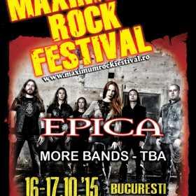 Trupa Epica confirmata la Maximum Rock Festival 2015