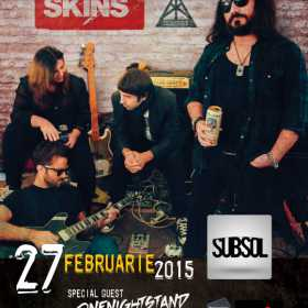 Concert Changing Skins si Onenightstand in Subsol Club