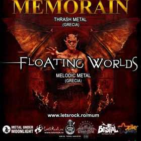 Concert in Cluj-Napoca: Memorain (thrash/Grecia) si Floating Worlds (melodic metal/Grecia)