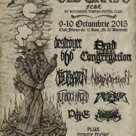 Destroyer 666, Violentor, Turbocharged si Slaughtbbath la Old Grave Fest 2015