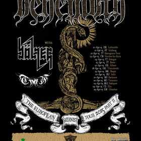 """Nergal - solistul trupe Behemoth lanseaza cartea """"Sacrum Profanum"""" si la Bucuresti"""