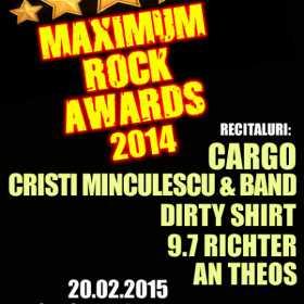 Trupele Dirty Shirt, 9.7 Richter si AnTheos va invita la Gala Maximum Rock Awards in Club Colectiv