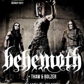 Ultima saptamana de presale pentru concertul Behemoth la Bucuresti
