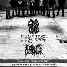 Cap de Craniu, Negative Core Project si Epileptic Outbreak, pe 18 martie, la Question Mark din Bucuresti