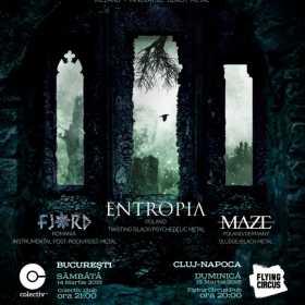 Concert Fjord la Cluj Napoca alaturi de Altar Of Plagues