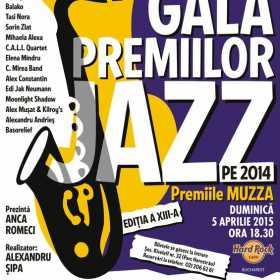 Gala premiilor de Jazz, la Hard Rock Cafe
