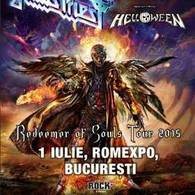 Helloween invitati speciali ai concertului Judas Priest la Romexpo