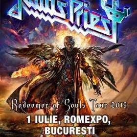 """Judas Priest concerteaza in Romania, in turneul de promovare pentru """"Redeemer of Souls"""""""