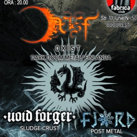 0 X I S T, Void Forger, Fjord (Metal Under Moonlight XLVII, 27.05.2015)