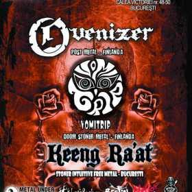 Concert stoner doom finlandez cu Ovenizer si Vomitrip luni, la Bucuresti!