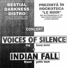 INDIAN FALL, Voices of Silence, Hathor (Metal Under Moonlight III, 20.10.2000)