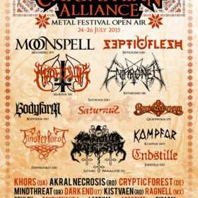 La CAMF 2015 participa si Marduk, Moonspell si Khors