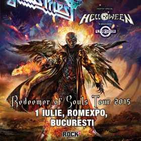 9.7 RICHTER canta in deschiderea concertului Judas Priest la Romexpo