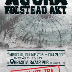 Concert Agora, Volstead Akt si T.B.A. in Bazar Pub din Brasov