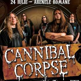 Trupele Epileptic Outbreak si L.O.S.T. canta in deschidere la Cannibal Corpse
