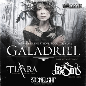 GALADRIEL, Tiarra, StoneLight, For My Sins (Metal Under Moonlight LI, 17.09.2015)