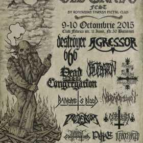 A 4-a editie Old Grave Fest - bilete, line-up si merch