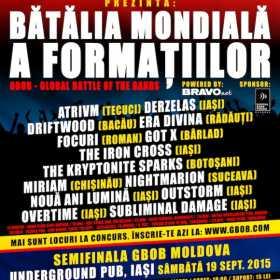 Semifinala GBOB Moldova in Underground Pub Iasi