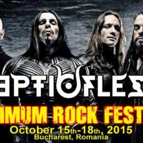Trupa Septicflesh se pregateste pentru concertul de la Maximum Rock Festival 2015
