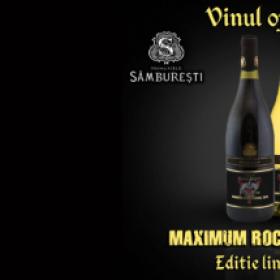 Lansarea vinului oficial Maximum Rock Festival