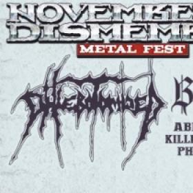 November to Dismember Metal Festival este anulat