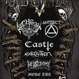 Trupele Antisect si Execration au fost confirmate la Old Grave Fest 2016 in Club Fabrica