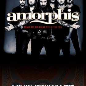 Under The Red Cloud World Tour - concert AMORPHIS la Arenele Romane