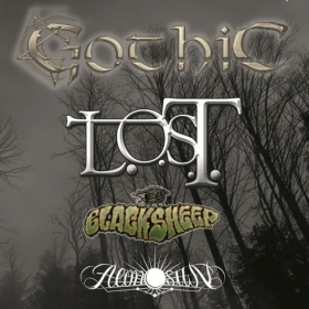 GOTHIC, L.O.S.T., Blacksheep, Aeon Sun (Metal Under Moonlight LVI, 18.12.2015)