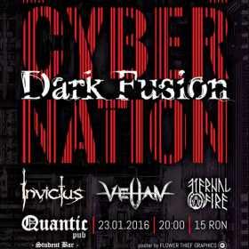 Concert Dark Fusion in Quantic Pub 2