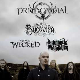 Concerte Primordial, Bucovina, Diamonds Are Forever si For The Wicked la gala METALHEAD Awards de la Arenele Romane