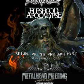 Fleshgod Apocalypse canta alaturi de Ensiferum la Bucuresti