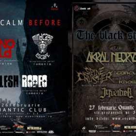 Programul Underground Metal Resistance Fest V in Quantic Pub2