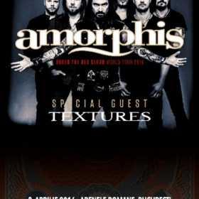 Textures canta alaturi de Amorphis pe 3 aprilie