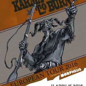 Karma to Burn in concert la Cluj Napoca in Flying Circus Pub