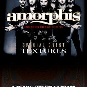 Program si reguli de acces la concertul Amorphis si Textures de la Arenele Romane