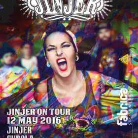 Concert Jinjer, Cupola, For My Sins si Consequence in club Fabrica