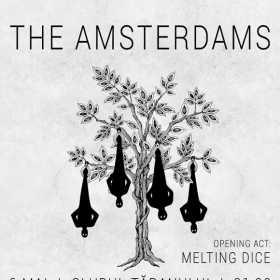 Concert The Amsterdams si Melting Dice la Clubul Taranului din Bucuresti