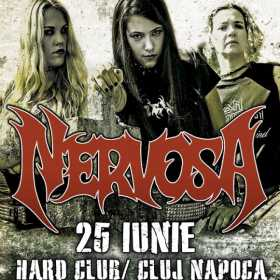 Trupa Nervosa in concert la Cluj Napoca in Hard Club