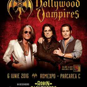 Trupa Robin and the Backstabbers deschide printr-un show inedit concertul Hollywood Vampires
