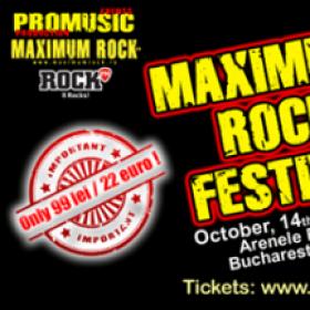 Alte 5 formatii confirmate la Maximum Rock Festival 2016